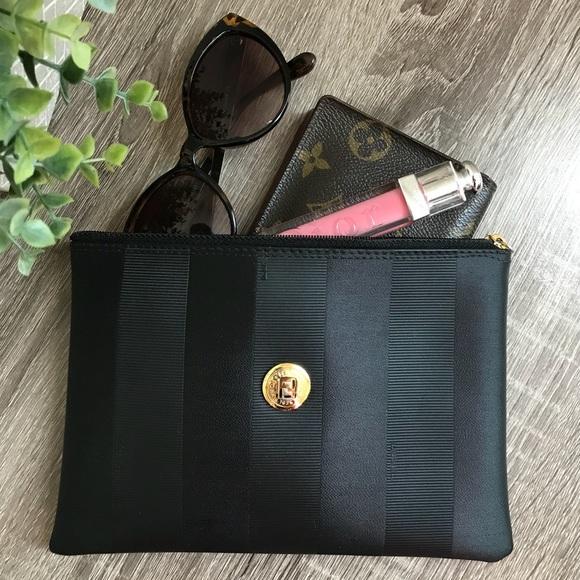 64fc0fb23ad6 Fendi Handbags - FENDI Vintage clutch pouch wristlet